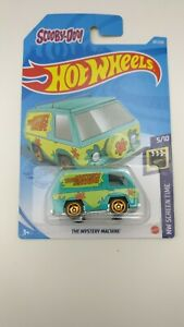HOT WHEELS 2021 SCOOBY DOO THE MYSTERY MACHINE LONG CARD / New/Unopened Rare