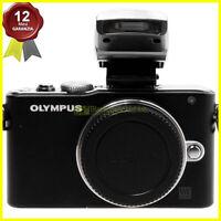 Olympus Pen Lite E-PL3 body nera Fotocamera digitale Mirrorless Micro 4/3 MFT