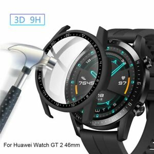 Glass Cover Dial Scale Protective Case Bumper Shell For Huawei Watch GT 2 46mm