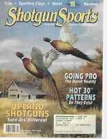 Shotgun Sports Magazine September 1996 Upland Shotguns, Trap, Skeet, Hunting