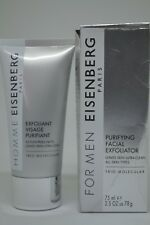 Eisenberg For Men Trio-Molecular Purifying Facial Exfoliator BNIB 75ml/2.5oz.