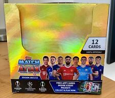 More details for topps match attax 2021/22 uefa leagues box of 24 packets --- new unopened