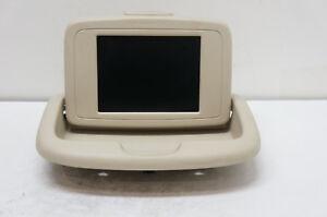 2001-2003 Ford Windstar Rear Information Display Screen Tan OEM 1F22-19G278-AC