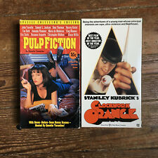Clockwork Orange And Pulp Fiction Vhs Lot