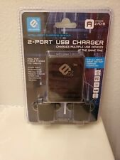 Ics Innovation - 2 Port Usb Charger - Version A Mounts easily to Nightstands. Ez