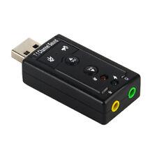 H41 USB scheda audio a 3.5mm EDIMAX Virtual 3d Sound effetto surround 7.1 Laptop PC
