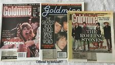 Rolling Stones (3) Goldmine Covers Lot Bundle 1195, 1997 2007 Jagger Richards