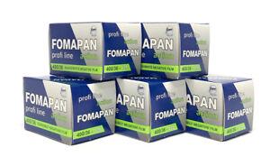 Fomapan 400 - Cheap Black & White Film - 35mm 36 Exp - 5 Rolls