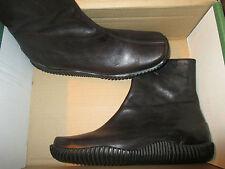 Hess Natur Grand Step Boots Stiefelette Chelsea Boots Schuhe Braun 36 Leder neu