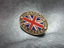 AUTHENTIC BARBOUR LAND ROVER  PIN BADGE