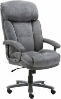 CLATINA Ergonomic Tall Executive Office Chair with Upholstered Swivel 400lbs