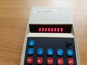 Vintage Calculator Commodore 899a Red Led