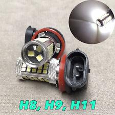 2x H11 6000K 63SMD 3528 LED Bulb For Car Truck Fog Lights Lamp For GM