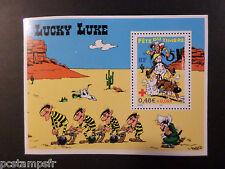 FRANCE 2003, BLOC timbre n° 55, LUCKY LUKE, FETE du TIMBRE, neuF**, COMICS MNH