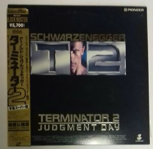 LASERDISC TERMINATOR 2 JUDGMENT DAY JAPAN NTSC WITH  OBI