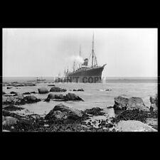 Photo B.000416 SS CITY OF PARIS INMAN LINE 1899 PAQUEBOT CARGO & PASSENGER SHIP