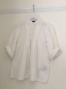 GAPKids Girls cream cotton blouse. Age 6-7 years