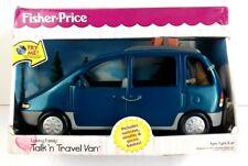 Rare Vintage 1999 Fisher Price Loving Family Talk N Travel Minivan Van BNIB