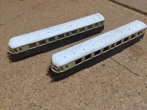 n gauge GWR Railcar White Metal Bodies.