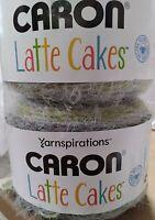 Yarnspirations Caron Latte Cakes OLIVE MINT Yarn 8.8oz 530 yards NEW