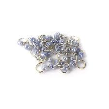 Piercing Nagel Schmuck Nail Silber Ring Piercing Nailart 10 Stück Lavendel