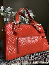 Genuine TED BAKER Orange Patent Tote handbag