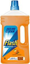 1 L Flash todo propósito líquido Limpiador Para Pisos De Madera-Mandarina & Madera De Cedro