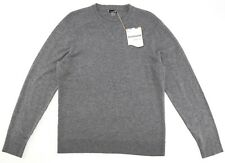 Smartwool Medium Grey Donegal Sparwood Crew Sweater Men's Size XXL 82512
