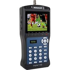 Megasat Satellite Meter Digital 1 HD TV DVB-S2 Satellite-Finder Pre-programmed