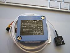 NEW KISTLER 8302A10/5202 497 mV/g ACCELEROMETER CALIBRATION VIBRATION