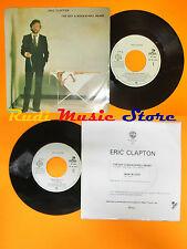 LP 45 7'' ERIC CLAPTON I've got a rock'n'roll heart Man in love 1983 cd mc dvd