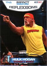 TNA Hulk Hogan #87 2012 Reflexxions SILVER Parallel Card SN 21 of 40