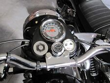 New British Made Smooth Royal Enfield ® Stem Nut Clock