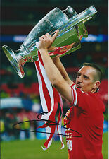 Franck Ribéry Signed Autograph Photo AFTAL COA Bayern Munich Champions League