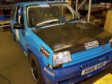 RENAULT 5 GT TURBO HILL CLIMB RALLY CAR BLUE PROJECT 1990