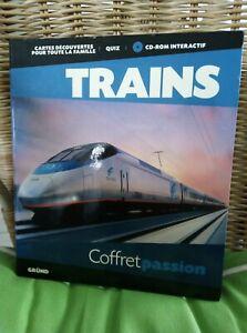 Coffret passion TRAIN , CD rom interactif