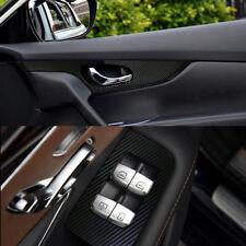 5D High Gloss Black Carbon Fiber Vinyl Wrap Auto Car Film Decals Sheet