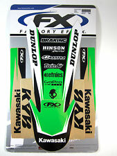 Factory Effex EVO Trim Fenders Swingarms Graphics Kawasaki KX250F KXF250 04 05