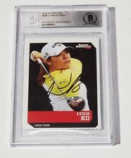 LYDIA KO SIGNED AUTO'D 2016 SI FOR KIDS CARD #506 BAS COA LPGA TOUR GOLF RC