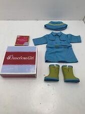 American Girl Raincoat & Boots Set - MYAG - New In Box