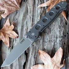 Couteau CRKT Classic Carson M16-04S Tanto Acier AUS-8 Manche ALumin LAWKS CR04S