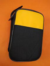 Double Layer Zipper Carrying Case Fluke 115-116-117-175-15B-17B-18B multimeters