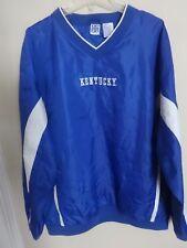 Vintage K Sport NCAA Kentucky Wildcats Pullover Track Jacket Men 2XL Vented