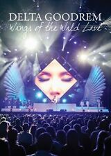 DELTA GOODREM Wings Of The Wild - Live (Released 2 November) DVD NEW