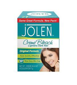 Jolen Creme Bleach Original - Lightens Excessively Dark Hair