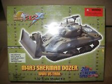 1/32 ULTIMATE SOLDIER WWII U S M4A3 SHERMAN DOZER TANK MODEL KIT
