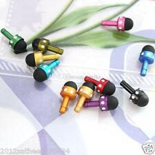 3.5mm Mini Anti-Dust Plug Capacitive Touch Screen Stylus Pen Dustproof Stopper