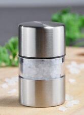 Mini Salz- oder Pfeffermühle Salzstreuer Pfefferstreuer Mühle Edelstahl