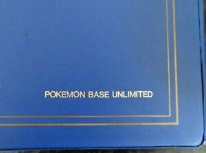 1999 Pokémon Base Set COMPLETE WOTC Unlimited 102/102 **Never Played**