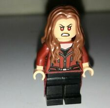 Lego Marvel Super Heroes Scarlett Witch Minifigure ~ Set 76051